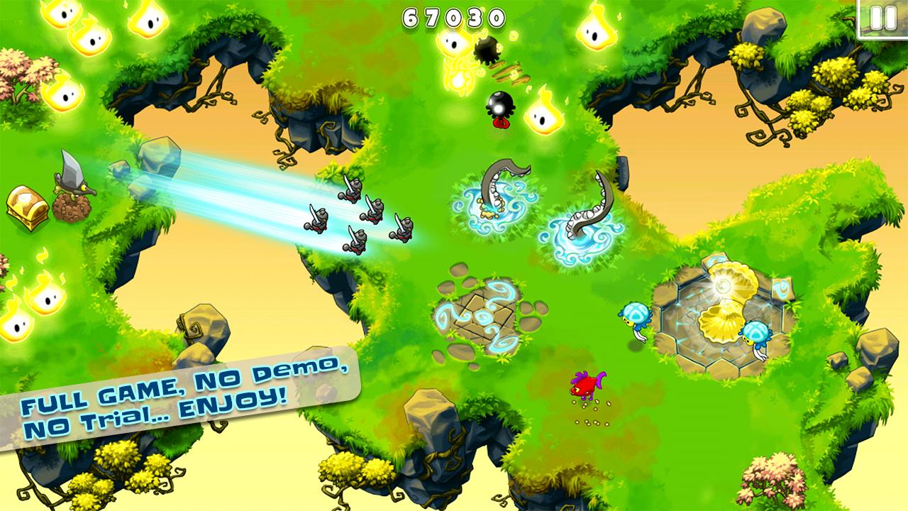 Screenshot of Ninja Hero Cats