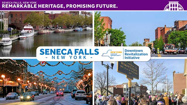 Seneca Falls presents as finalist for $10 million DRI grant