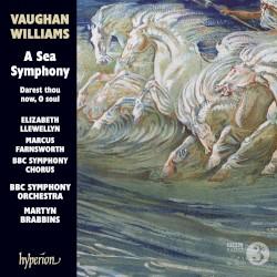 A Sea Symphony by Vaughan Williams ;   Elizabeth Llewellyn ,   Marcus Farnsworth ,   BBC Symphony Orchestra ,   BBC Symphony Chorus ,   Martyn Brabbins
