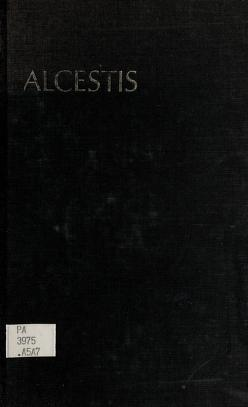 Cover of: Alcestis | Euripides