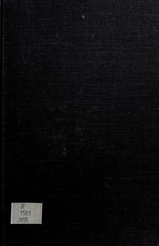 Bureaucracy and representative government by William A. Niskanen