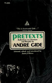 Cover of: Pretexts | André Gide